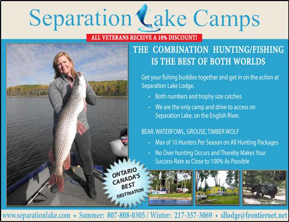 Separation Lake Camps