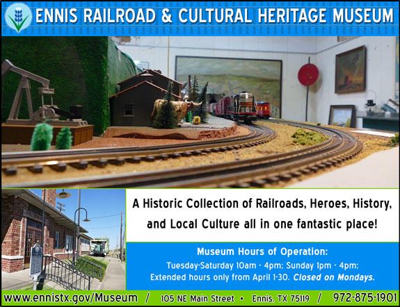 Ennis Railroad & Cultural Heritage Museum
