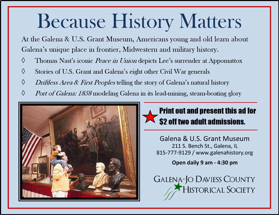 Galena Jo Davies County Historical Society
