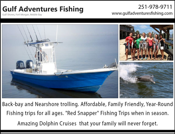 Gulf Adventures No Excuses Charters