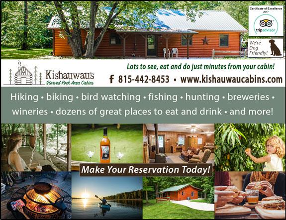 Kishauwau Starved Rock Area Cabins