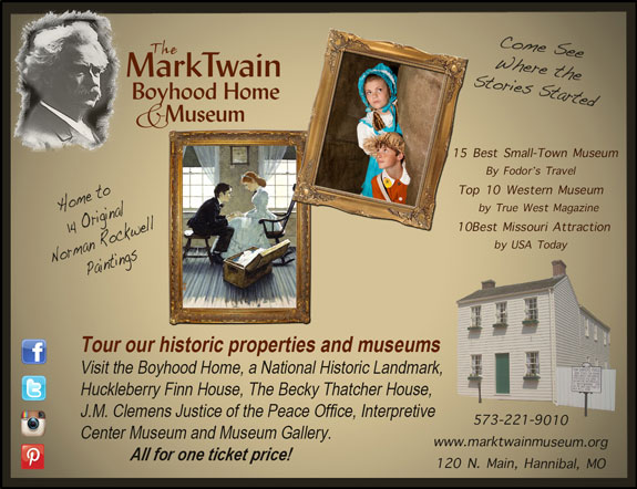 Mark Twain Boyhood Home and Museum