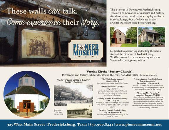 Pioneer Museum - Fredericksburg