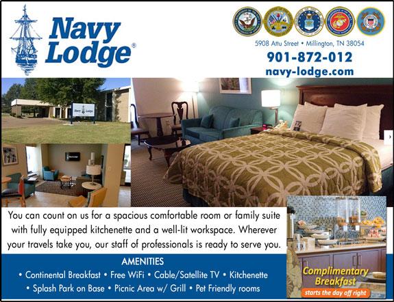Navy Lodge - Memphis