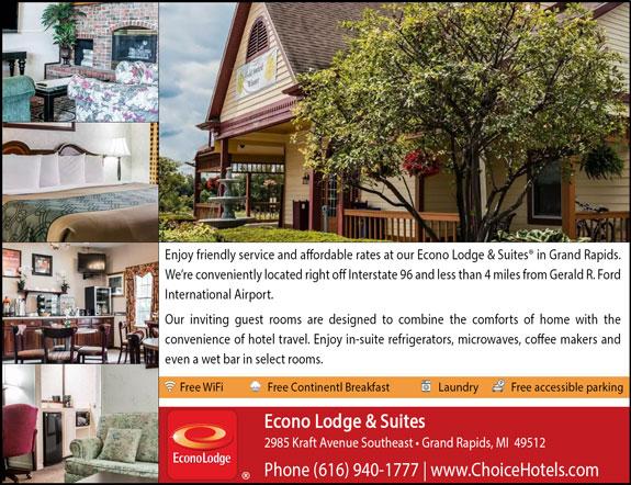 Econolodge Inn & Suites - Grand Rapids, MI