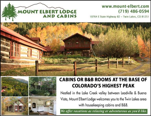Mount Elbert Lodging