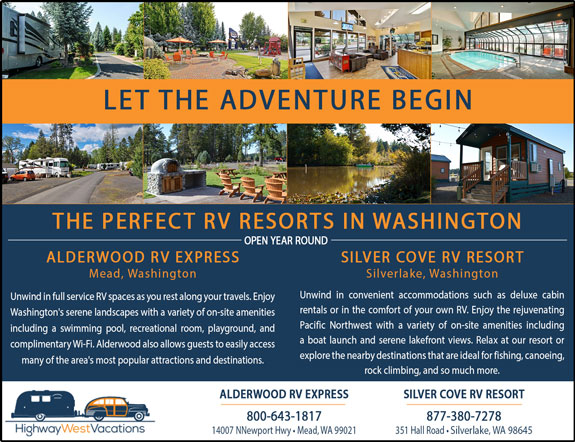 Alderwood RV Park and Silver Cove RV Park