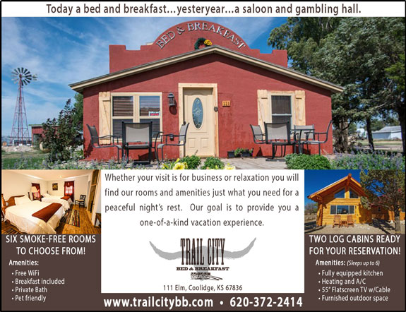 Trail City Bed and Breakfast