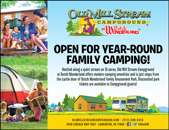 Old Mill Stream Campground/Dutch Wonderland