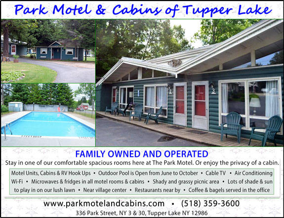 Park Motel and Cabins of Tupper Lake