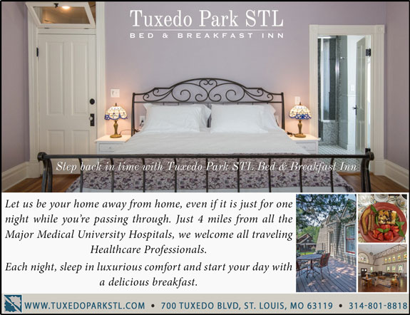 Tuxedo Park STL Bed and Breakfast