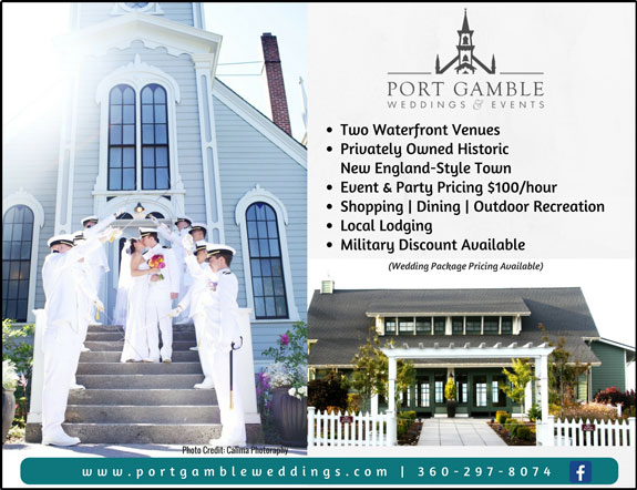 Port Gamble Weddings and Events