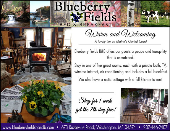 Blueberry Fields Bed and Breakfast