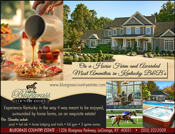 Bluegrass Country Estate Bed and Breakfast