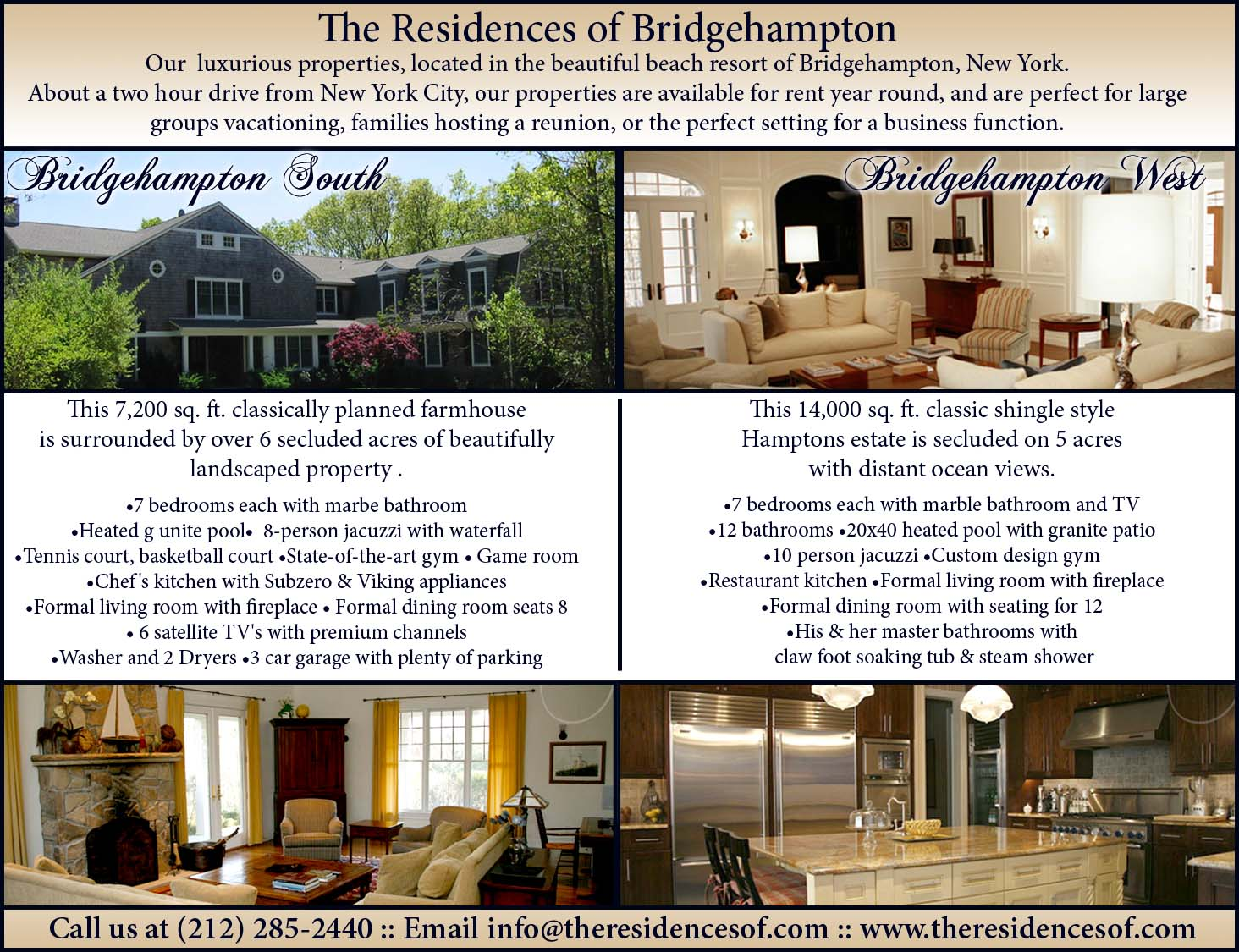 Residences of Bridgehampton