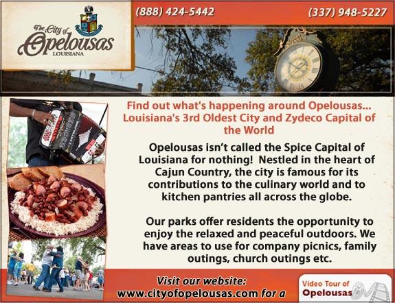 City of Opelousas Tourism