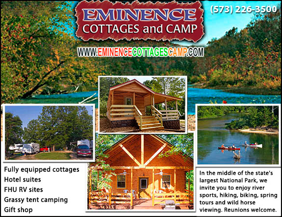 Eminence Cottages and Camp