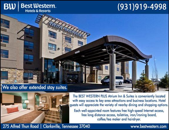 Best Western Plus Atrium