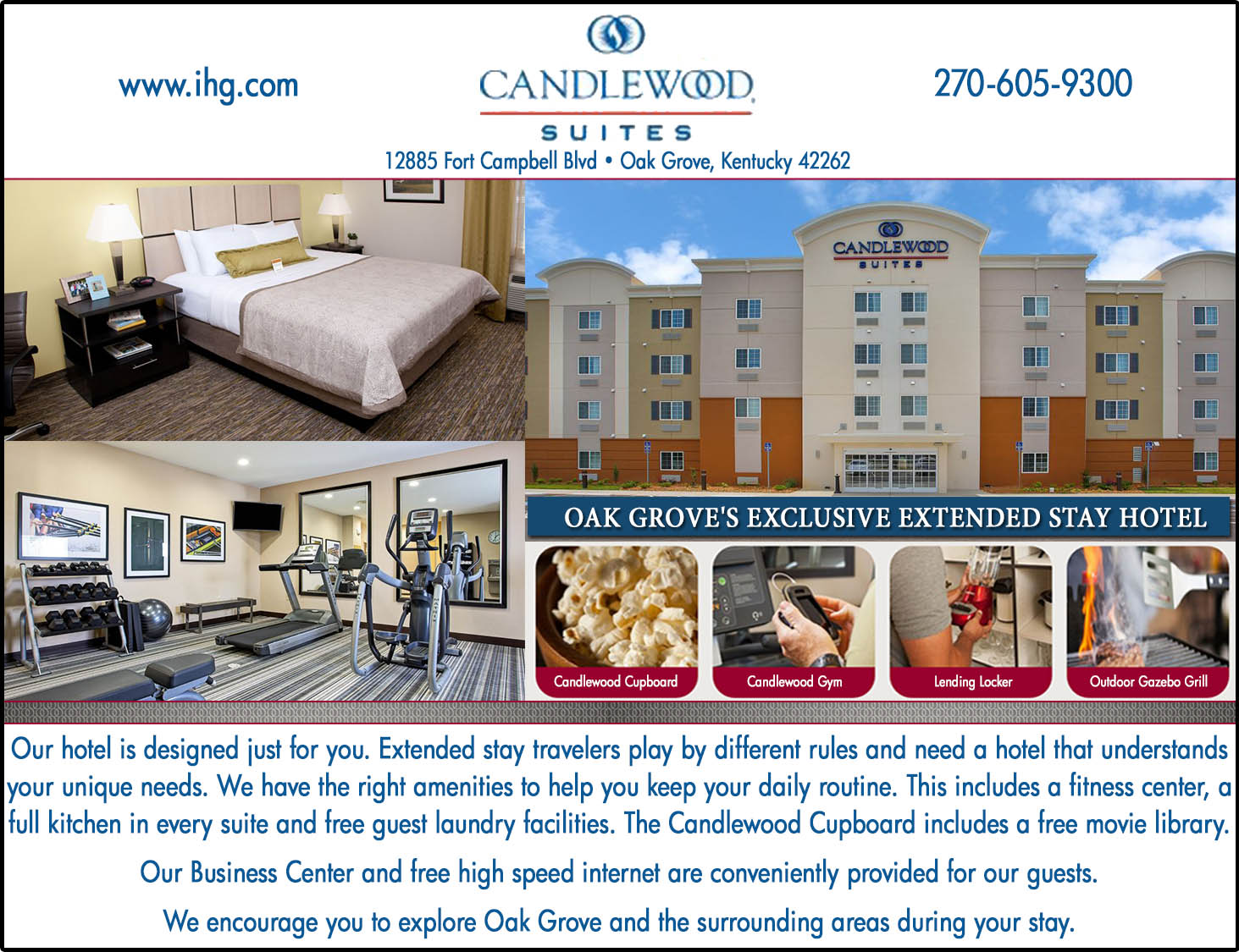 Candlewood Suites - Oak Grove