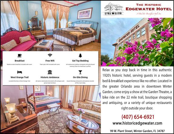 The Historic Edgewater Hotel