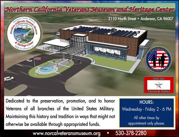 Northern California Vet's Museum/Heritage Cntr