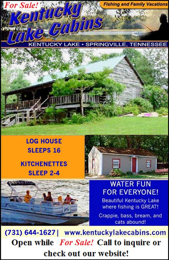 Kentucky Lake Cabins