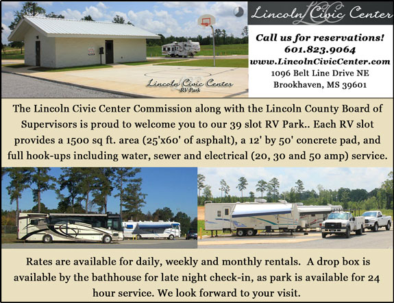 Lincoln Civic Center RV Park