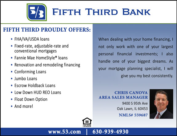 Fifth Third Bank - Chris Canova