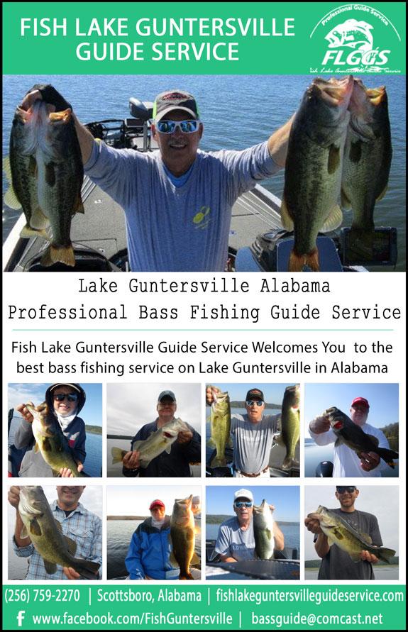Fish Lake Guntersville Guide Service