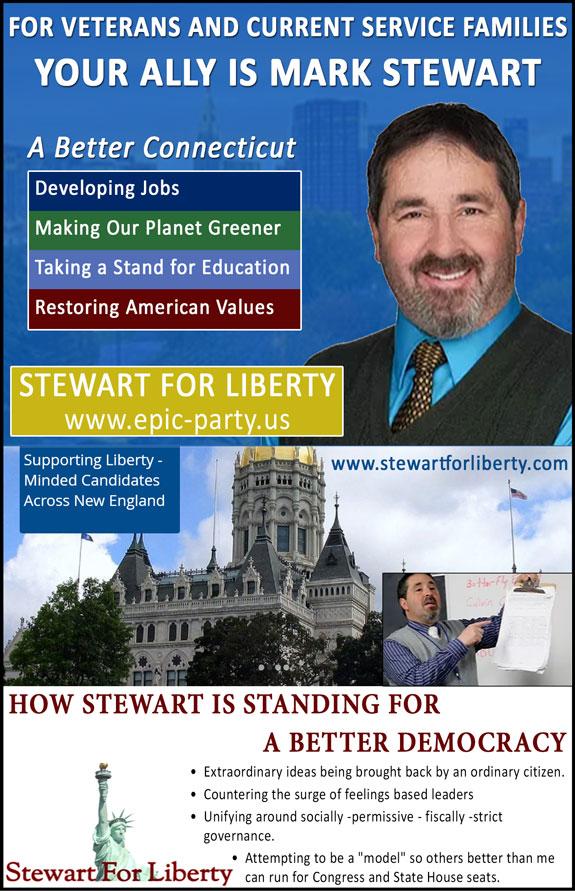 Stewart for Hartford/Stewart for Liberty