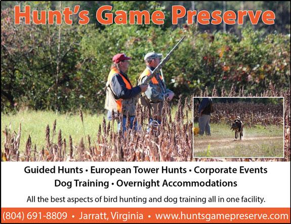 Hunts Game Preserve