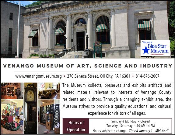Venango Museum of Art Science and Industry