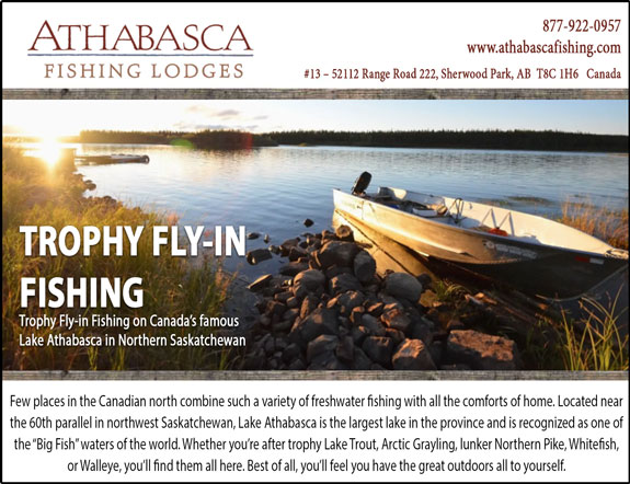 Blackmur's Athabasca Fishing Lodges