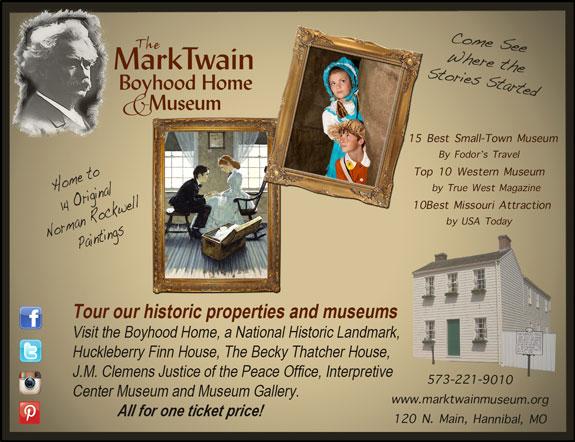 Mark Twain Boyhood Home and Museum
