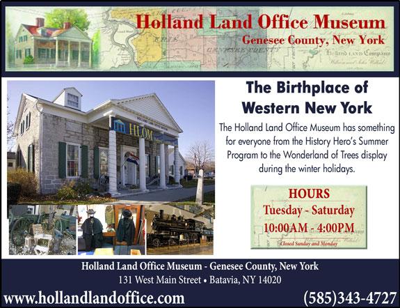 Holland Land Office Museum