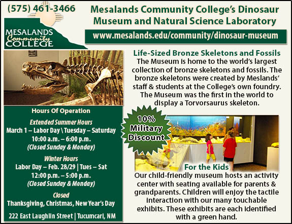 Mesalands Community Colleges Dinosaur Museum