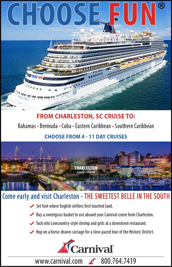 Carnival Cruises - Charleston