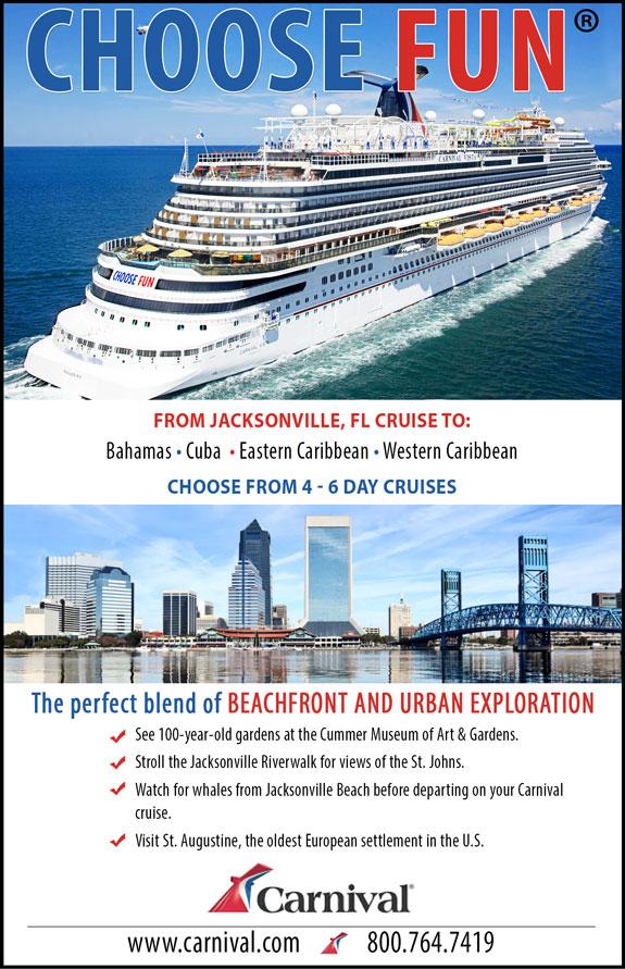 Carnival Cruises - Jacksonville