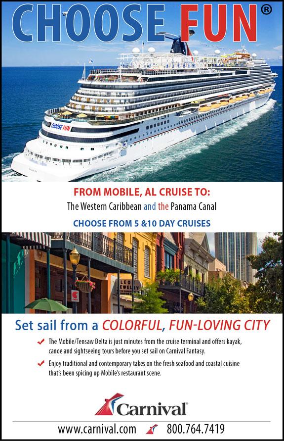 Carnival Cruises - Mobile