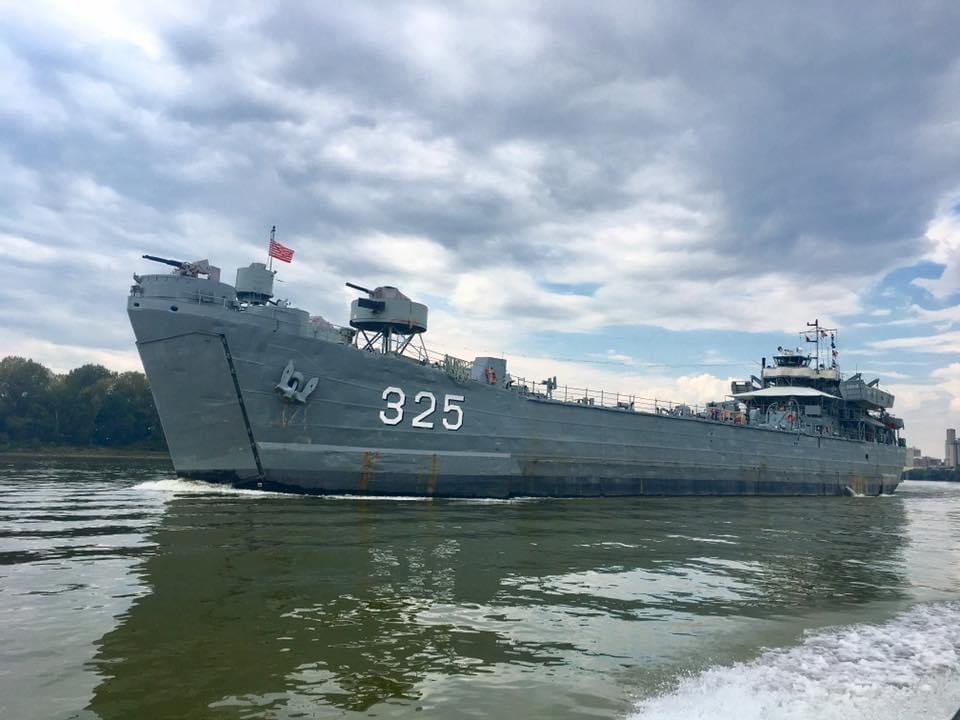 A war ship in Indiana?