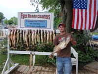 Lake Erie Walleye Fishing with Eyes Ready Charters