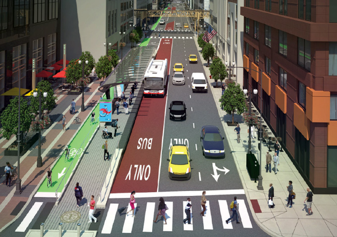 Mayor Emanuel and the City of Chicago Officially Launch The Loop Link